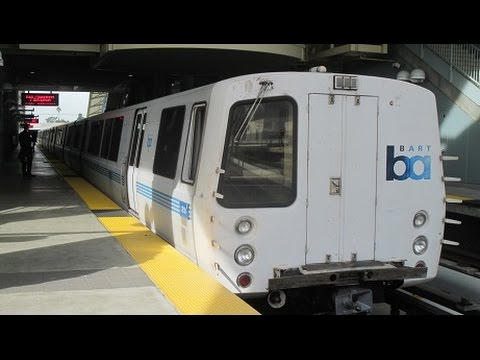 BART Red Line (San Francisco to Millbrae) - January 26th, 2016