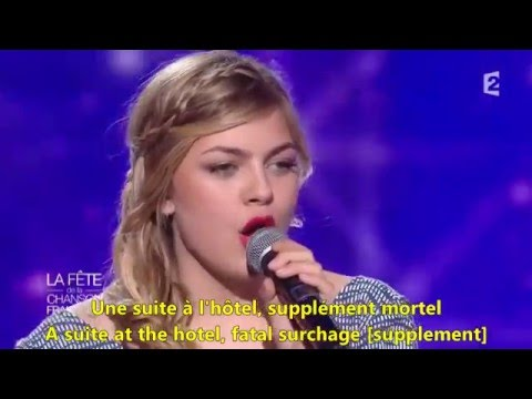 Jour 1 - Louane - English & French Lyrics, Paroles, Translation. Music Of France