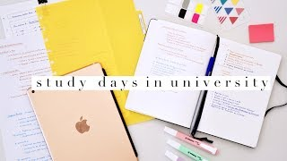 Weekly STUDY ROUTINE for University 2018