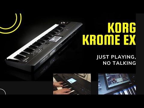 Korg KROME - Audiodemos