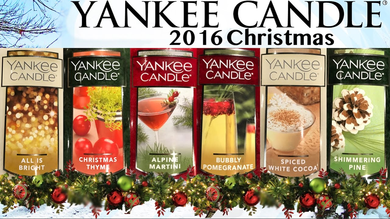 Yankee Candle Village   Flagship Store   2016 Christmas Analyses / Reviews    YouTube
