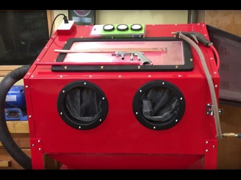 Harbor Freight Blast Cabinet Assembly, Upgrades, and Lessons Learned