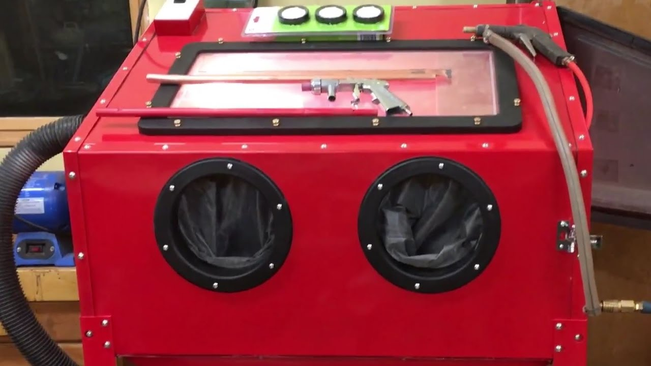 Harbor Freight Blast Cabinet Assembly, Upgrades, and Lessons Learned Part 1