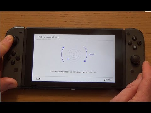 How to Calibrate the Control Sticks on your Nintendo Switch