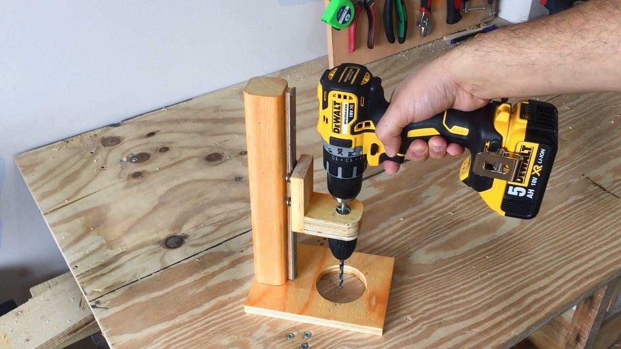 making a mobile drill press drill guide el yapimi matkap kilavuzu