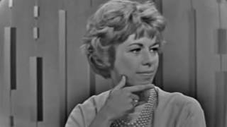 PASSWORD 1963-08-26 Carol Burnett & Peter Lawford
