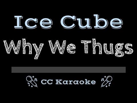 Ice Cube   Why We Thugs CC Karaoke Instrumental