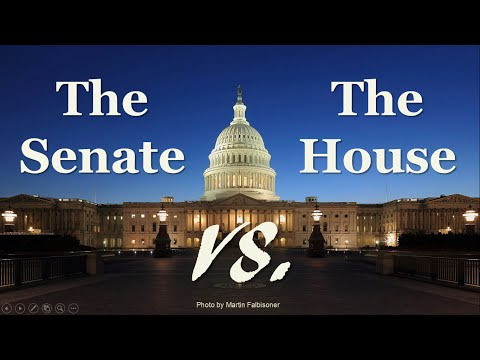 The Senate And The House Of Representatives Explained Congress