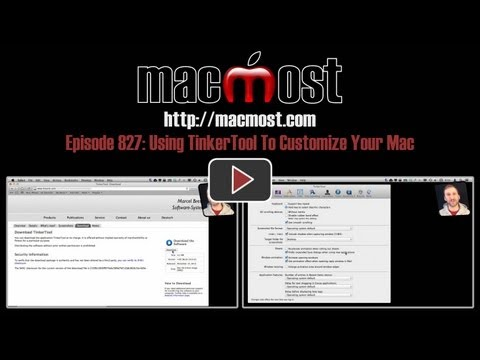 Using TinkerTool To Customize Your Mac (MacMost Now 827)