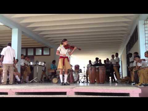 Music school in Santiago de Cuba  Violin