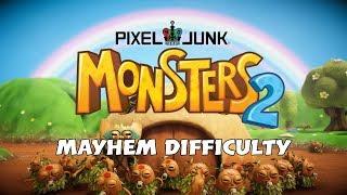"""PixelJunk MONSTERS 2 """"How To Unlock Mayhem Difficulty"""""""