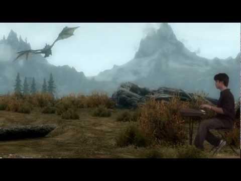 Elder Scrolls V : Skyrim Main Theme Piano Cover (Advait Nemlekar)