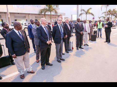 Stammapostel in Angola: Ankunft in Luanda