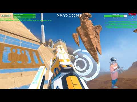 Skyfront VR | Zero-G Arial Combat! | NEW GUN! #PINEAPPLES! LUL | Live Stream HIGHLIGHT FULL 4/16/18 thumbnail