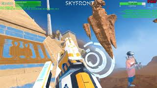 Skyfront VR | Zero-G Arial Combat! | NEW GUN! #PINEAPPLES! LUL | Live Stream HIGHLIGHT FULL 4/16/18