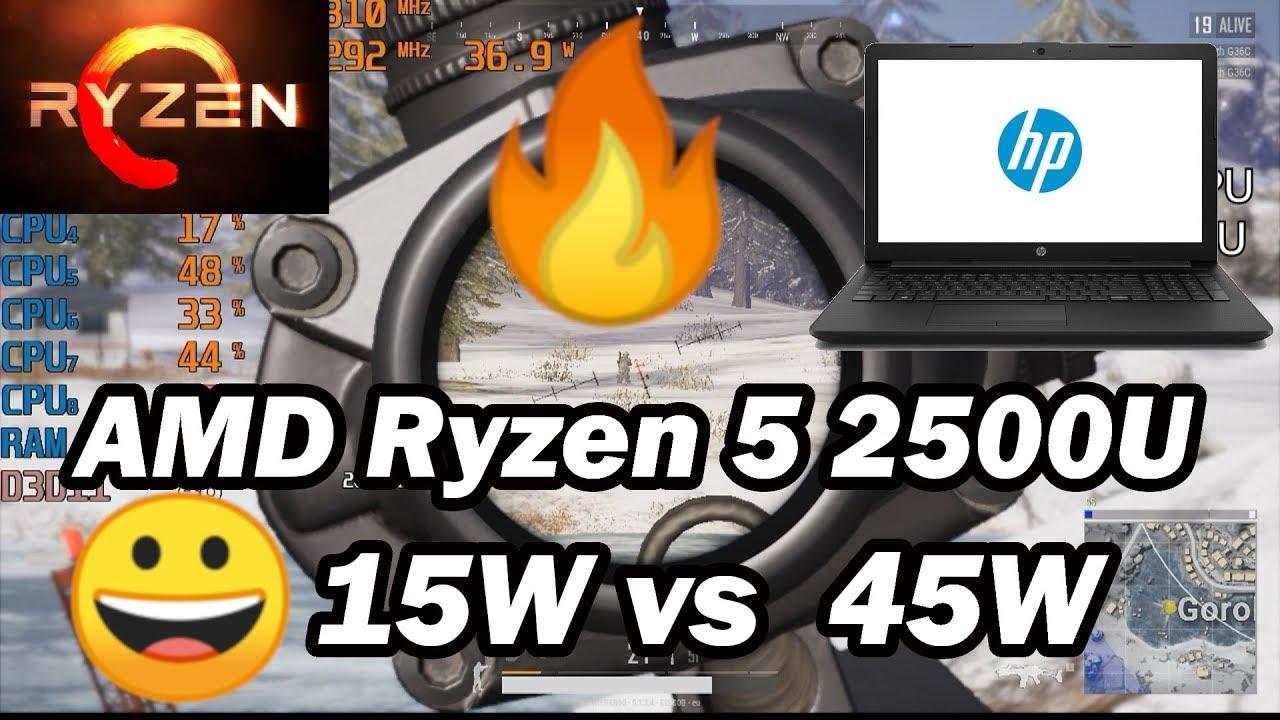 AMD Ryzen 5 2500U - cinemapichollu