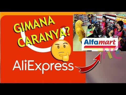 Cara belanja di aliexpress dengan benar dan lengkap , menggunakan metode pembayaran lewat alfamart 2.