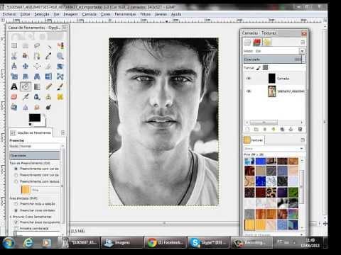 Como Transformar Uma Foto Colorida Em Preto E Branco No Gimp