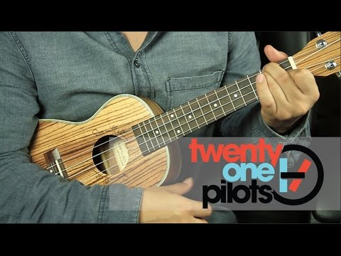 Twenty One Pilots - Stressed Out UKULELE Tutorial (HD)