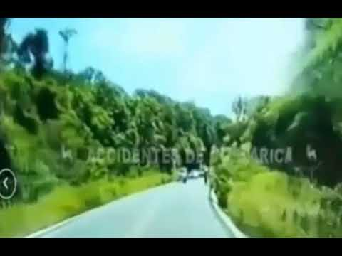 VIDEO: SUV hits six racing cyclists head on in Costa Rica