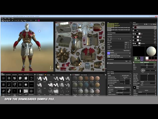 Substance Painter to VRay.