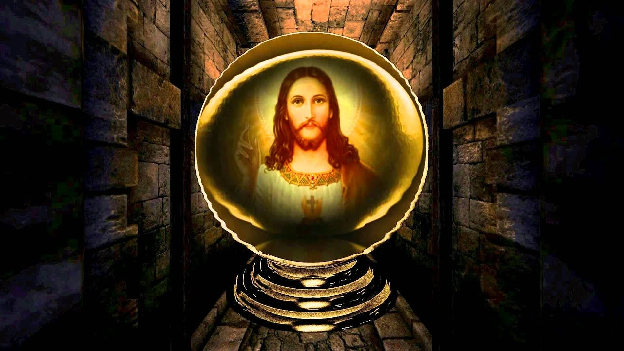 jesus globe dream animated
