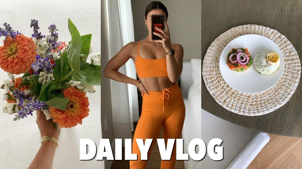 VLOG: zara haul, cooking + working out/self love talk