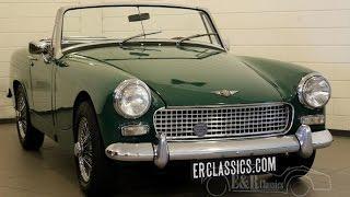 Austin Healey Sprite 1966 Racing Green Wire wheels good condition -VIDEO- www.ERclassics.com