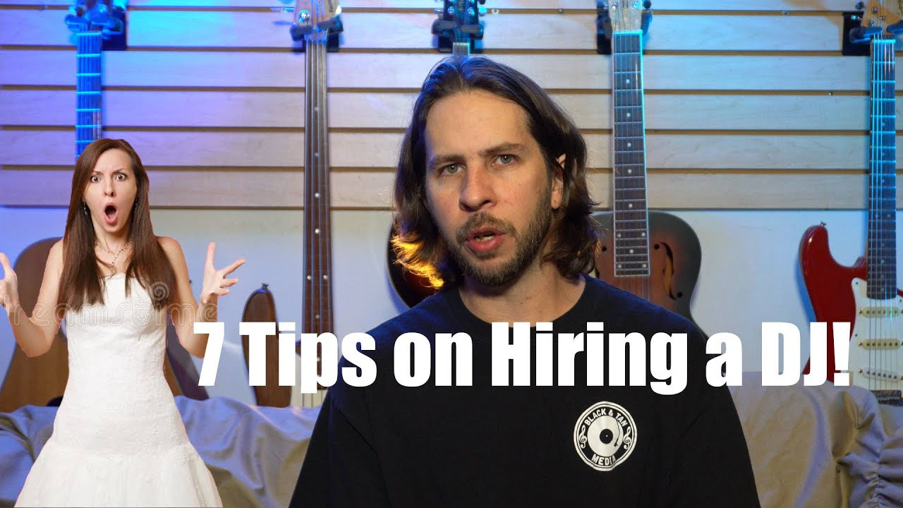 7 Tips on Hiring a Wedding or Event DJ
