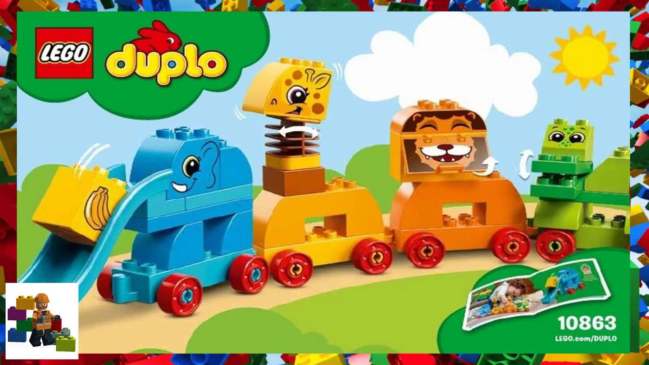 Lego Instructions Duplo 10863 My First Animal Brick Box Youtube