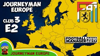 FM19 Journeyman - C3 EP2 - F91 Dudelange Luxembourg - A Football Manager 2019 Story