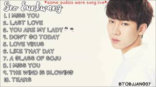 BTOB Seo Eunkwang (서은광) Songs Compilation