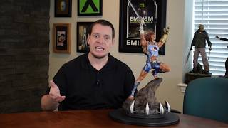 sideshow collectibles lion-o statue unboxing