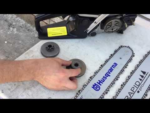 Как подобрать цепь для бензопилы по длине шины