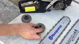 Как подобрать шину и цепь на бензопилу. Все нюансы