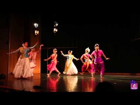 Amaiza-Indian Classical Dance Fusion- Kathak, Bharatnatyam & Odissi