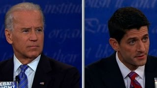 Raw video:  Biden and Ryan express their views on abortion