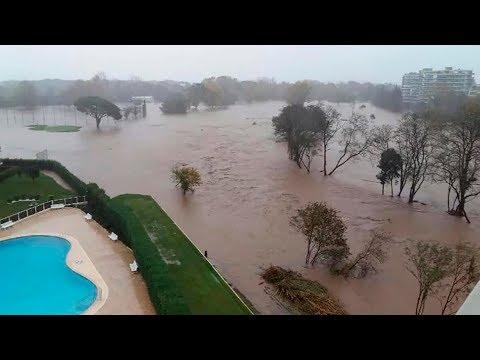 Природа обрушила гнев на весь мир! Теперь Франция уходит под воду