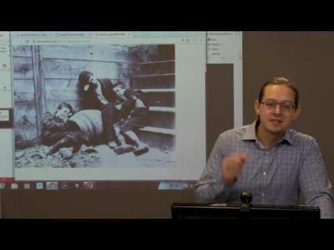 HIS 130: Analysis of a Jacob Riis photograph (WINTER 2017)
