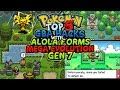 Top 5 Completed Pokemon GBA Hacks With Mega Evolution Alola Forms And GEN 7 Gameplay Download mp3