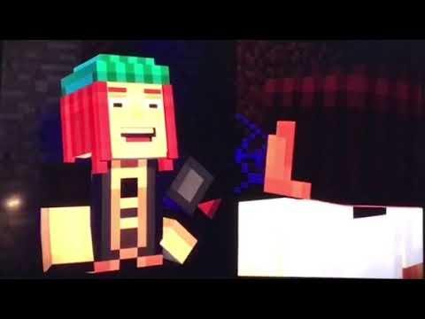 Minecraft story mode play thru- pt 2 (Nintendo switch)