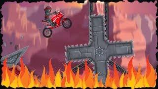 Moto X3m   Ninja Biker Mobile Gameplay (60 75) Levels Walkthrough