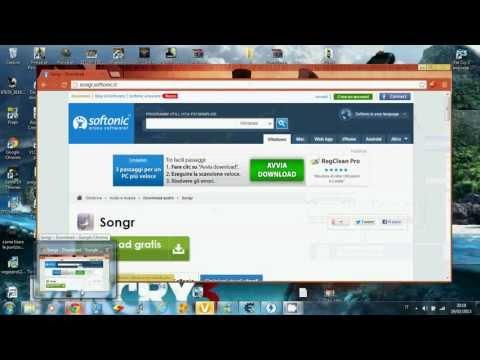 programmi per scaricare musica Songr ita