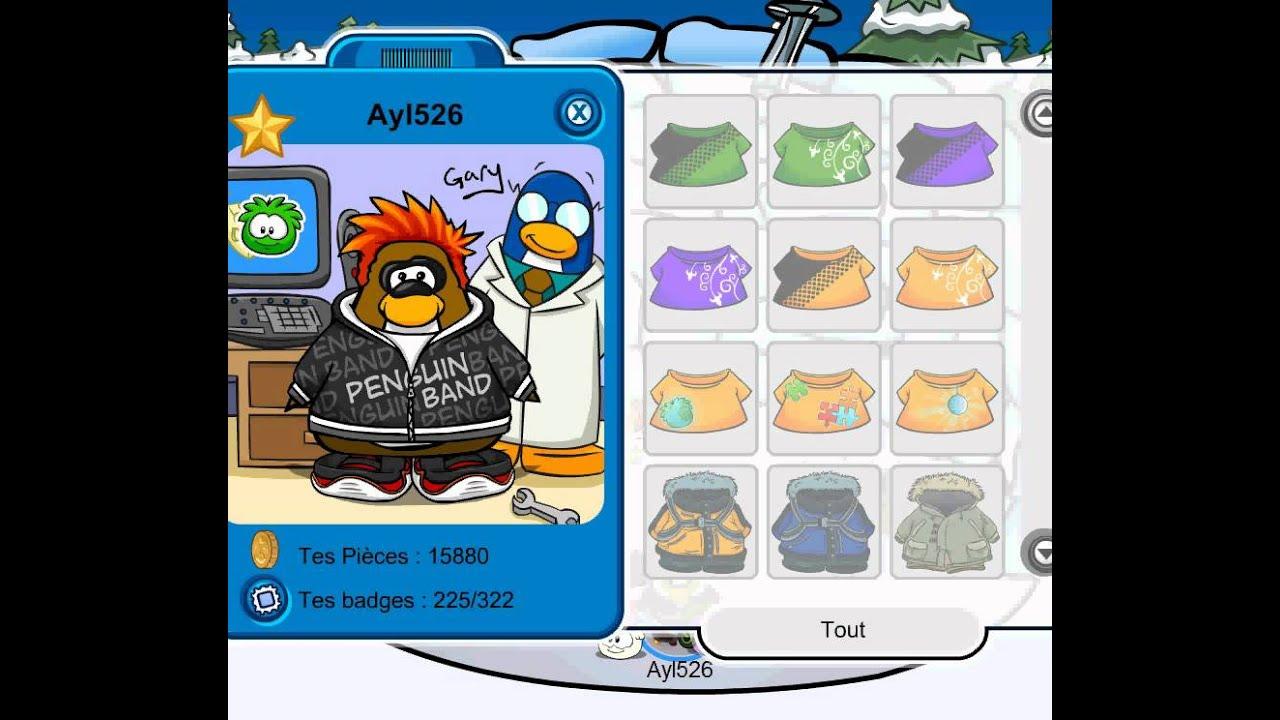 Club penguin compte rare non membre avec code gratuit - Club penguin gratuit ...