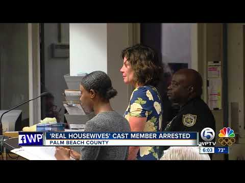 The Real Housewives of New York City cast member Luann de Lesseps arrested in Palm Beach