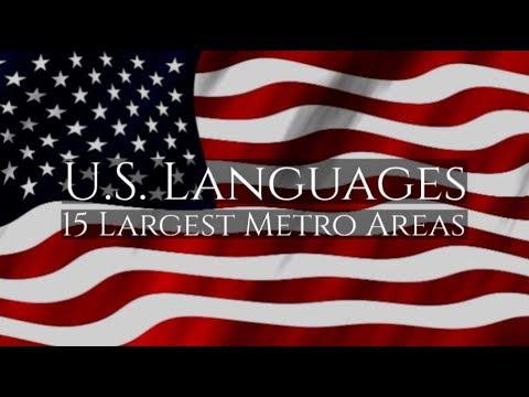 Languages Spoken in the United States: 15 Largest Metro Areas | Telelanguage