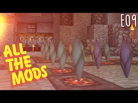 All the Mods - E09 - Automated LP, Demon Will Crystals, and Obsidian (Modded Minecraft 1.10.2) Mp3