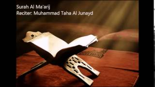Video 70.Surah Al Ma'arij by Muhammad Taha Al Junayd download MP3, 3GP, MP4, WEBM, AVI, FLV Juli 2018