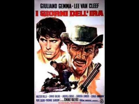 I giorni dell'ira Lee Van Cleef Giuliano Gemma - COLONNA SONORA