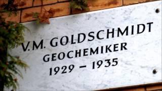 V. M. Goldschmidt • Geochemiker • 1929 - 1935 • Wagnerstraße 8 ...
